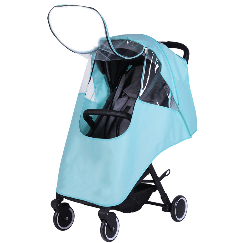 Strollers Accessories Humorous Baby Stroller Pram Waterproof Cart Rain Cover Raincoat Windshield Relieving Heat And Sunstroke Mother & Kids
