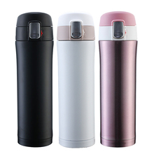 цена 500ml Travel Coffee Mug Double Wall Stainless Steel Thermos Vacuum Flasks Thermoses Office Business Tea Cup Drink Water Bottle