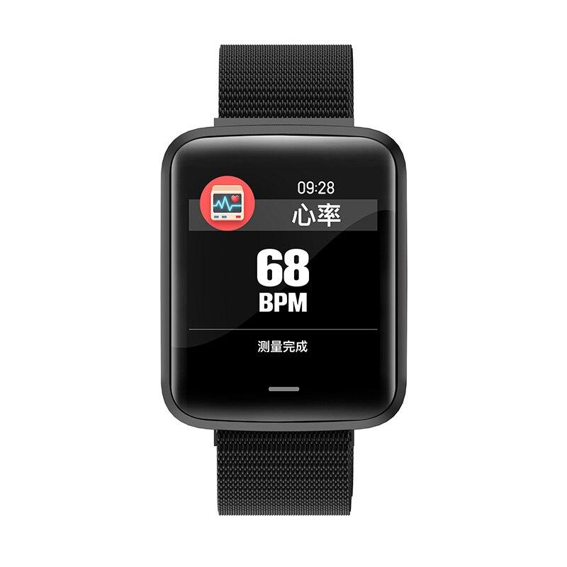 Chine montre intelligente Mobile étanche OLED écran Bluetooth Sport Fitness Tracker hommes femmes Smartwatch pour IOS Android téléphone - 4
