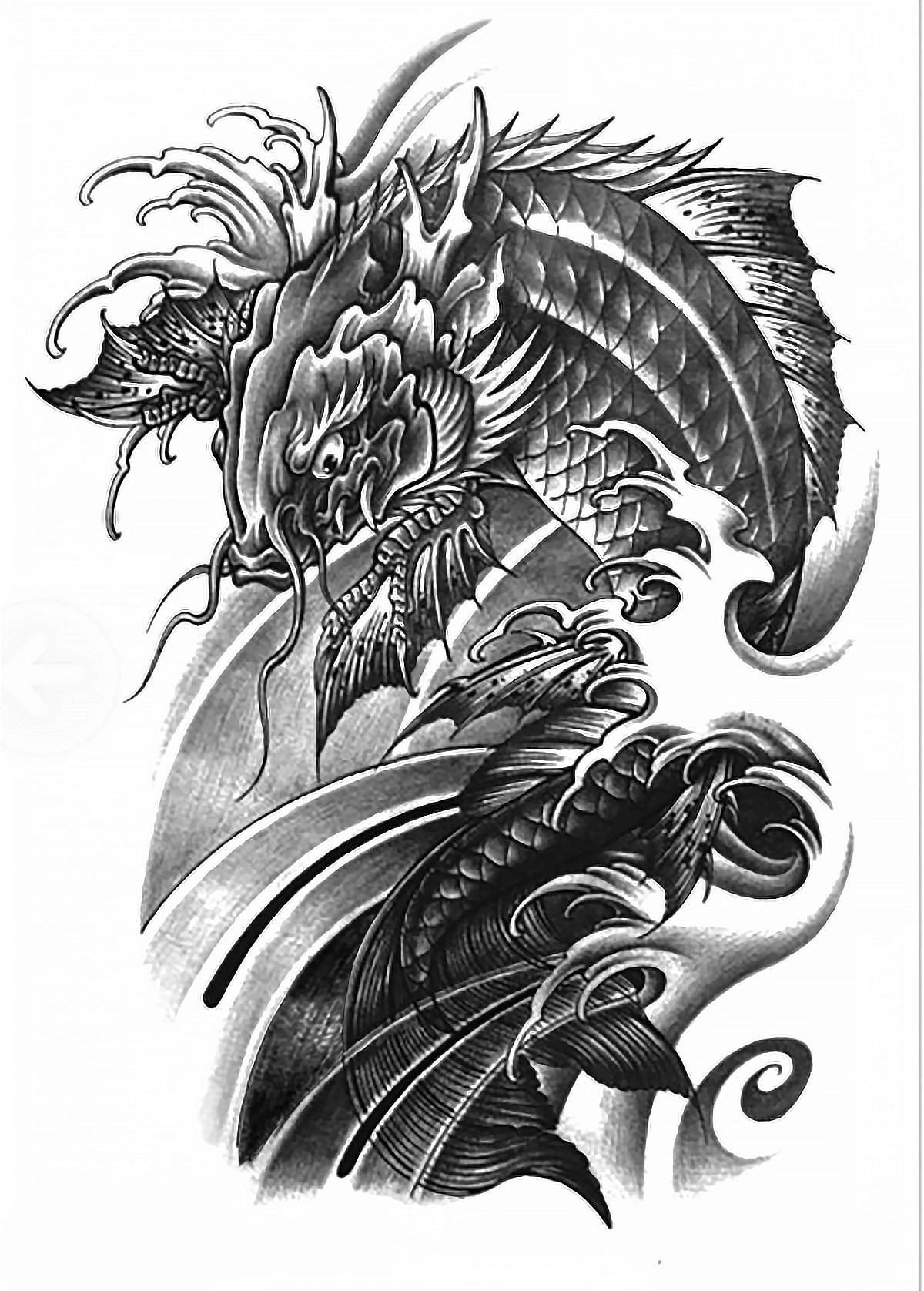 achetez en gros dragon de tatouage manches en ligne des grossistes dragon de tatouage manches. Black Bedroom Furniture Sets. Home Design Ideas