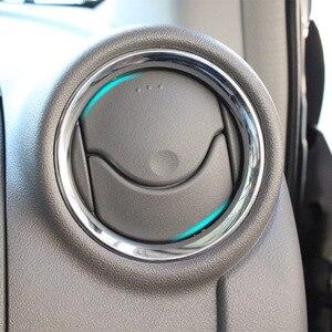 Image 5 - לניסן Versa Latio Almera אוויר Vent האחורי Trunk Chrome כיסוי Trim דפוס אביזרי רכב סטיילינג 2012   2018 2015 2016 2017