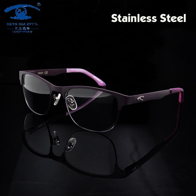 Nueva moda mujeres del diseñador de marcos Eyewear Rx prescripción Frame Glasses mujeres oculos de grau montura de gafas para mujer
