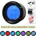 "Brand New  2""(52mm) EVO LCD 7 color Oil temp gauge /auto gauge/car meter/Pressure gauge/Boost controller"