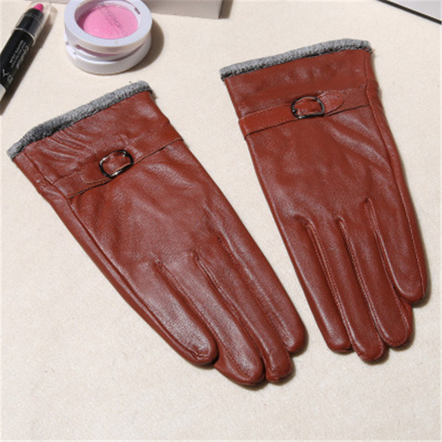 Winter Genuine Leather...