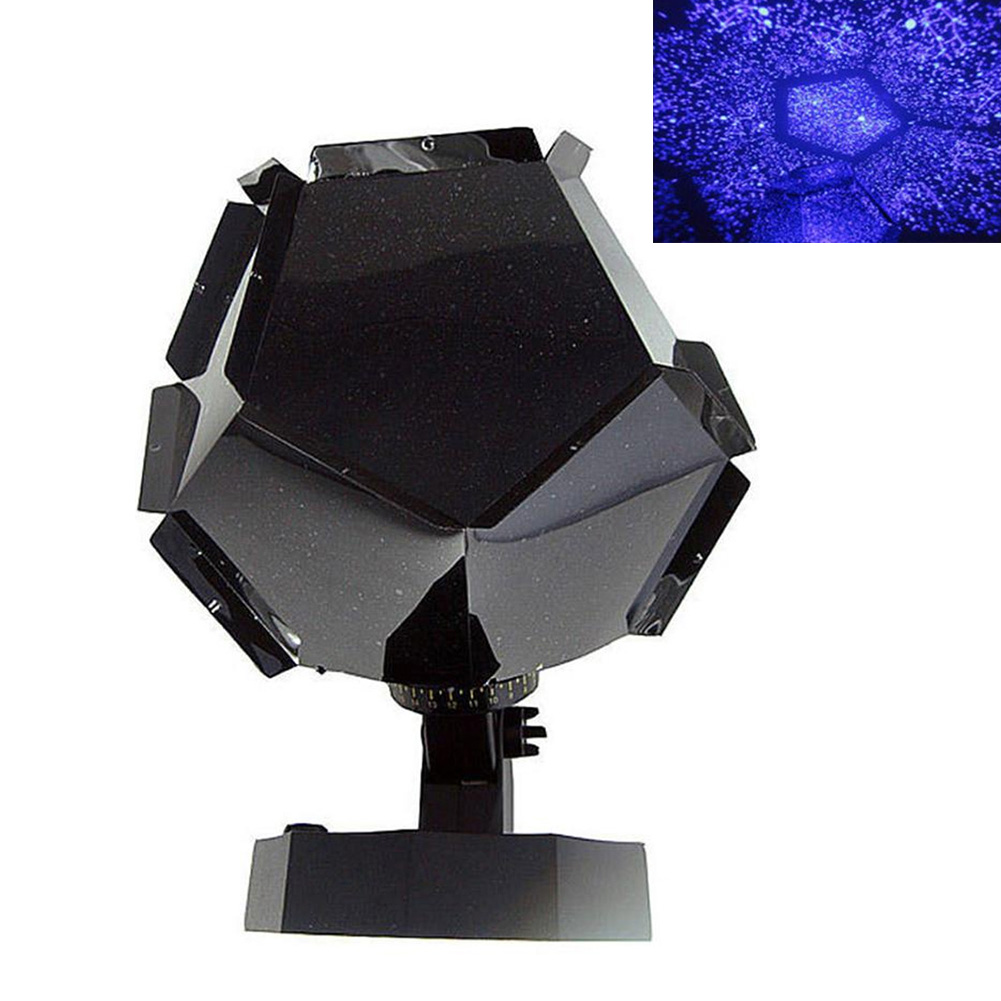 Celestial Projector Lamp Star Romantic Projection Starry Sky UV US Plug