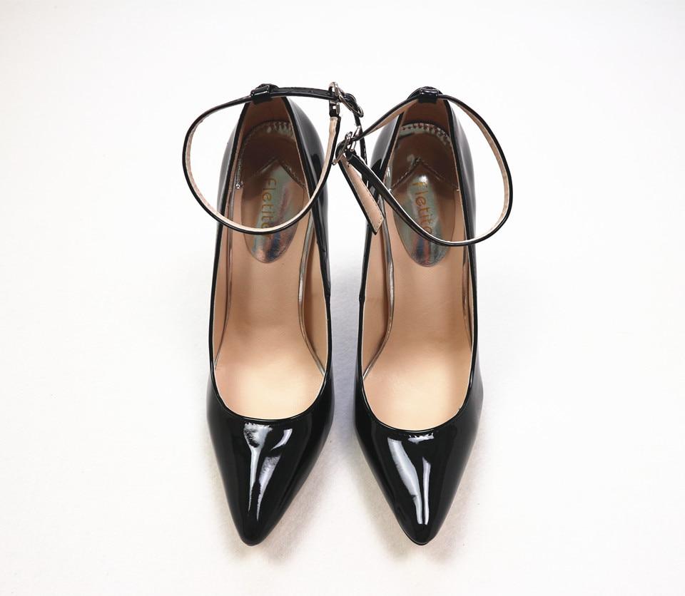 Großhandel Fletiter Schuhe Damen 12 Cm High Heels Pumps