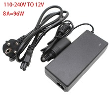 96 W AC 100 V   240 V to DC 12 V car cigarette lighter AC / DC adapter converter transformer DC power converter free delivery