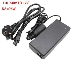 Image 1 - 96 W AC 100 V   240 V to DC 12 V car cigarette lighter AC / DC adapter converter transformer DC power converter free delivery