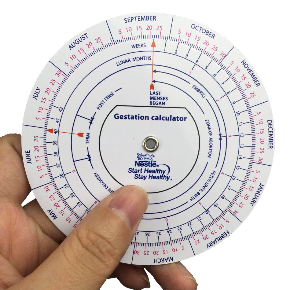 Aliexpress.com : Buy Gestation Calculator wheel pregnancy