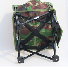 New Folding And Leaning Fishing Chair Sillas Camping Chair Camo Pocket Chair for Fishing Picnic BBQ Chair cadeira de praia