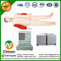 BIX/CPR280 multifunctional electronic adult full body cpr dummy W061