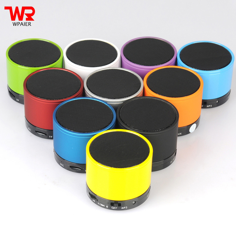 WPAIER ireless Bluetooth speaker portable outdoors mini audio bluetooth speaker support TF/USB Car Handsfree Call Phone Mic