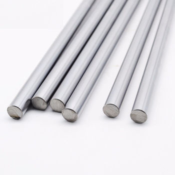 16mm Diameter Chrome Steel Smooth Rod D16 Stainless Steel Round Linear Rail Bar for 3D Printer Linear Rail Bar CNC Laser Cutter steel casing pipe