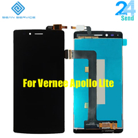 For Original Vernee Apollo Lite LCD Display TP Touch Screen Digitizer Assembly Lcds 5 5 Vernee