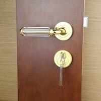 Unilocks Новый Европейский кристалл дверной замок один комплект