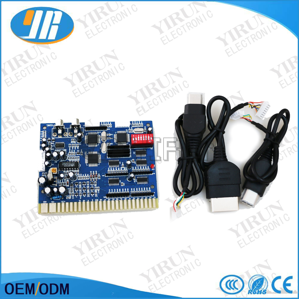 Free shipping MR X028 Xbox coin operated arcade game timer board for Jamma CGA output for free shipping mr x028 xbox coin operated arcade game timer board for