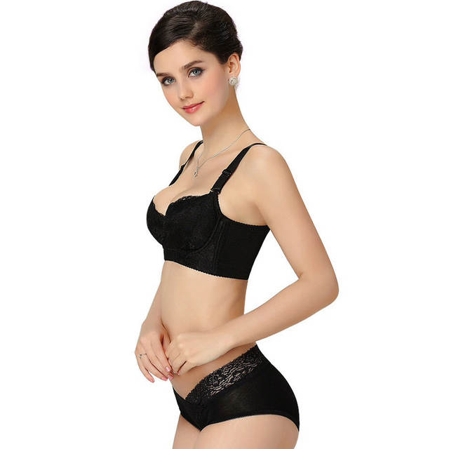 4b6c5d0c21 Silk High Quality Bras Brassiere Women Sexy Lace Push Up Bra Adjustment  Backless Strapless Underwear Big