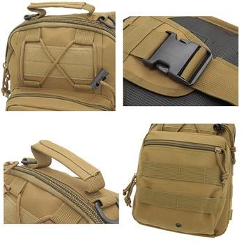 Hiking Trekking Backpack Sports Climbing Shoulder Bags Tactical Camping Hunting Daypack Fishing Outdoor Military Shoulder Bag 6