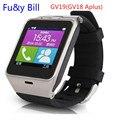 Новый GV19 (GV18Aplus) Bluetooth Смарт Часы Мульти Функции Android и IOS Смарт Часы Разъем Sim-карты, Смарт-Водонепроницаемый часы