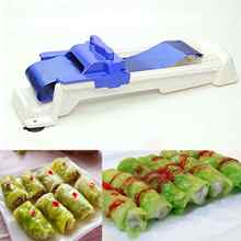 Creative Durable Stuffed Grape Cabbage Leaf Rolling Tools Gadget Roller Machine For Sushi Kitchen Supplies Tool