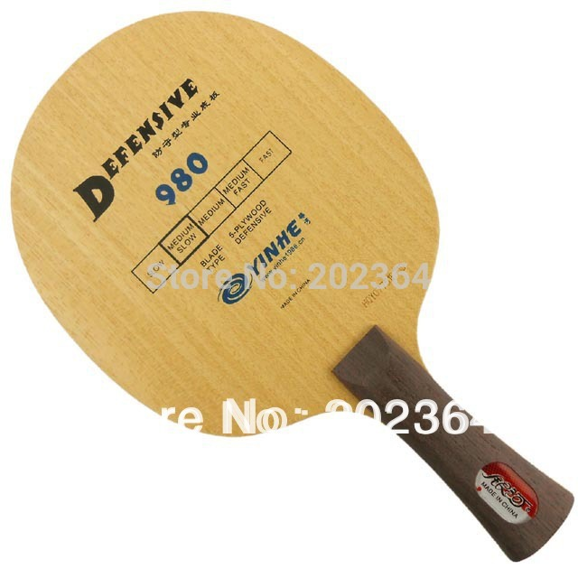 Galaxy / Milky Way / Yinhe Defensive 980 (5-Play Wood) Table Tennis Blade for PingPong Racket yinhe milky way galaxy 980 defensive table tennis pingpong blade