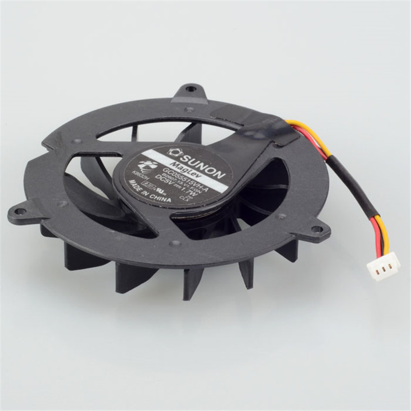 Notebook Computer Processor Cooling Fan Replacement For ACER Aspire 3050 GC055515VH-A Series Laptop Cpu Cooler Fan F0260 computer radiator and cooling fan for ati x1950 pro gamefx board series grahics card vga cooler as replacement
