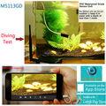 3G Sim Tarjeta de Red Mini IP67 submarina y 720 P CCTV Cámara de la Ayuda 128 GB SD Card Con P2P y WPS