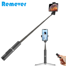 Bluetooth Selfie Stick with Tripod Portable Handheld Wireless Selfie Stick Monopod Bluetooth Remote For iPhone 7 Xiaomi Phones цена