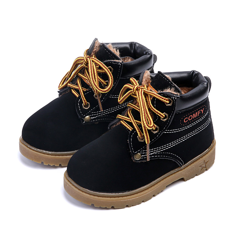 Winter-Fashion-Child-Leather-Snow-Boots-For-Girls-Boys-Thicken-Warm-Martin-Boots-Shoes-Casual-Plush-Child-Baby-Toddler-Shoe-4