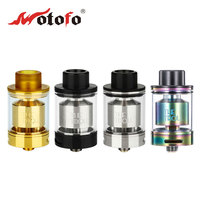 100% Original WOTOFO The Troll RTA Atomizer 5ml The troll Tank Dual coil flavor for Huge Vapor One post design Easy Build Deck