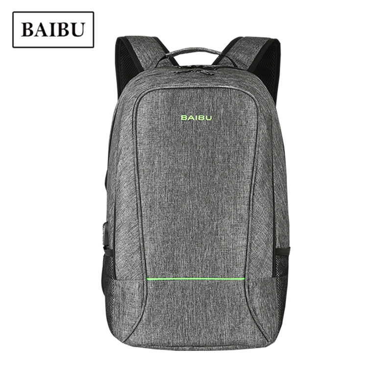 USB Charge Men Waterproof Laptop Backpack For Teenager Fashion Male Leisure Travel Backpack Anti Thief Multifunction Knapsack цена 2017