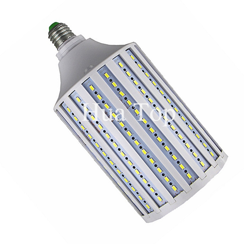 Led lamp 30W 50W 60W 80W 100W Lampada 5730 SMD E27 E40 B22 E26 AC 220V 110V Corn Bulb Pendant Chandelier Ceiling Lighting Light цена