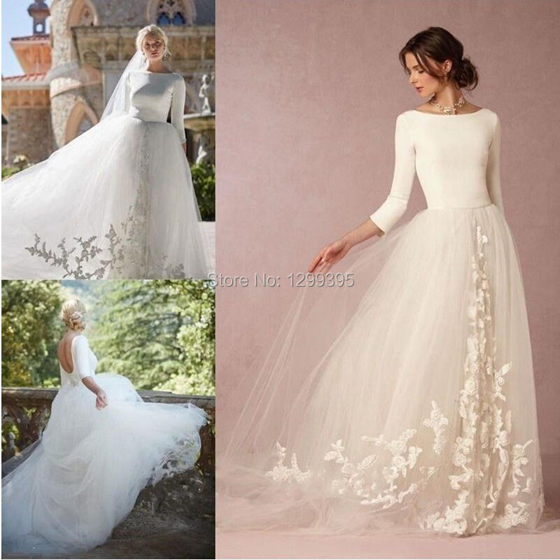 2017 Cheap Wedding Dresses China Simple Vintage Rustic Western ...