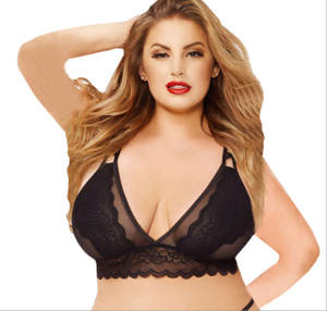 f94b9d7cf1 Women Sexy Push Up Lace Bralette Bra Underwear Plus Size