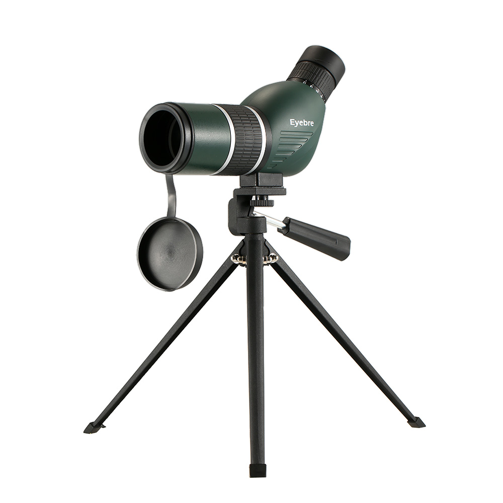 eyebre 12 36x50 Straight Angled Spotting Scope with Tripod Portable Hunting Scope Monocular Telescope with Carry