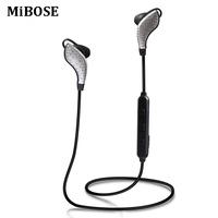 MiBOSE Bluetooth Earphone Wireless Sport Headphone Fone De Ouvido Suopport APT X Stereo Earbuds With Mic