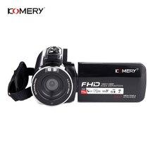 KOMERY Video Camera 1080P Full HD Digital Camera 16X Digital Zoom 3.0 Inch Touch LCD Screen