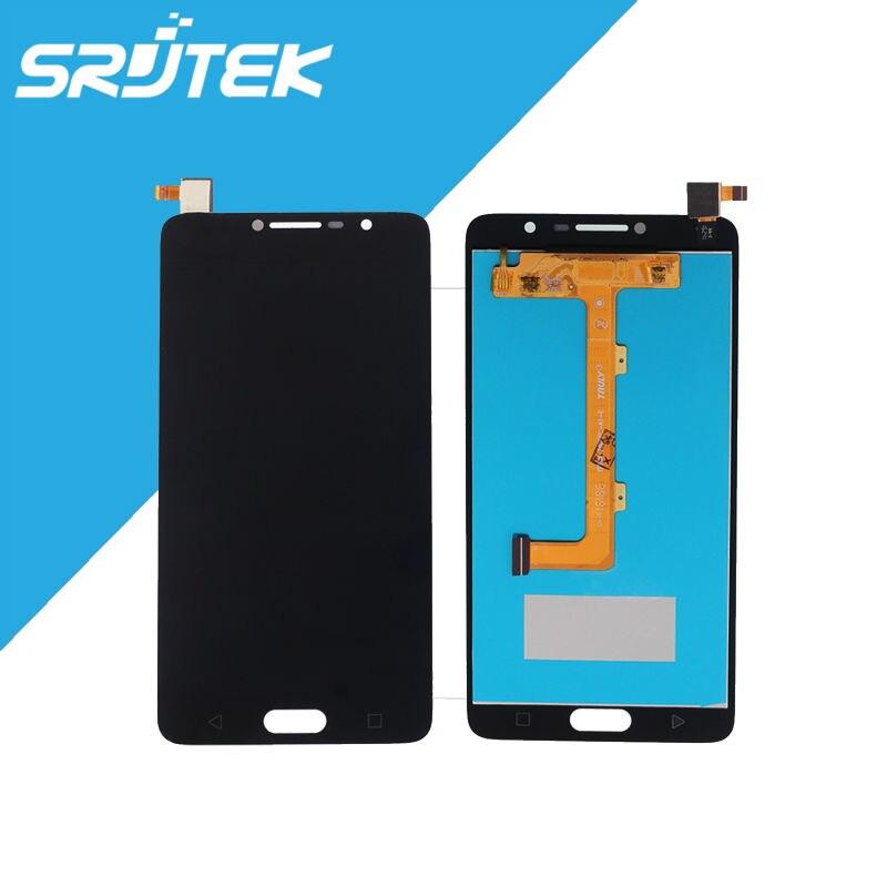 5.5'' Black For Alcatel One Touch Flash Plus 2 Pop 4s OT5095 5095 5095B 5095I 5095K 5095Y LCD Display + Touch Screen Digitizer alcatel ot 4035d pop d3 dual black fashion blue