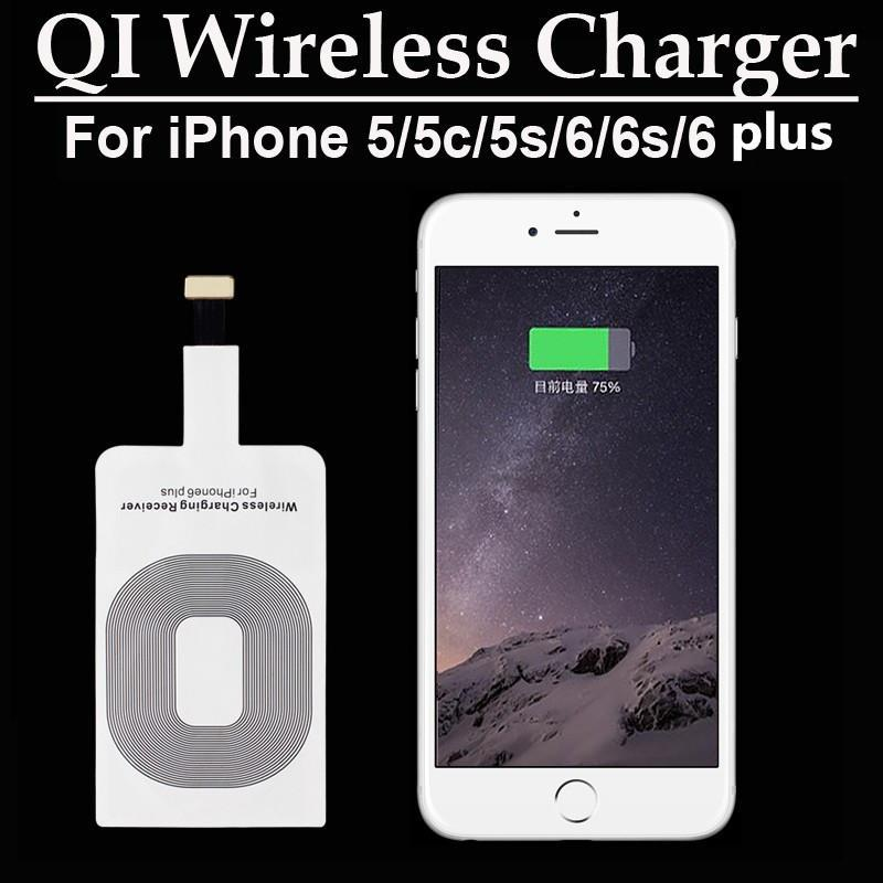6S 5s iPhone 6 Wireless Charging Receiver inalámbrico del