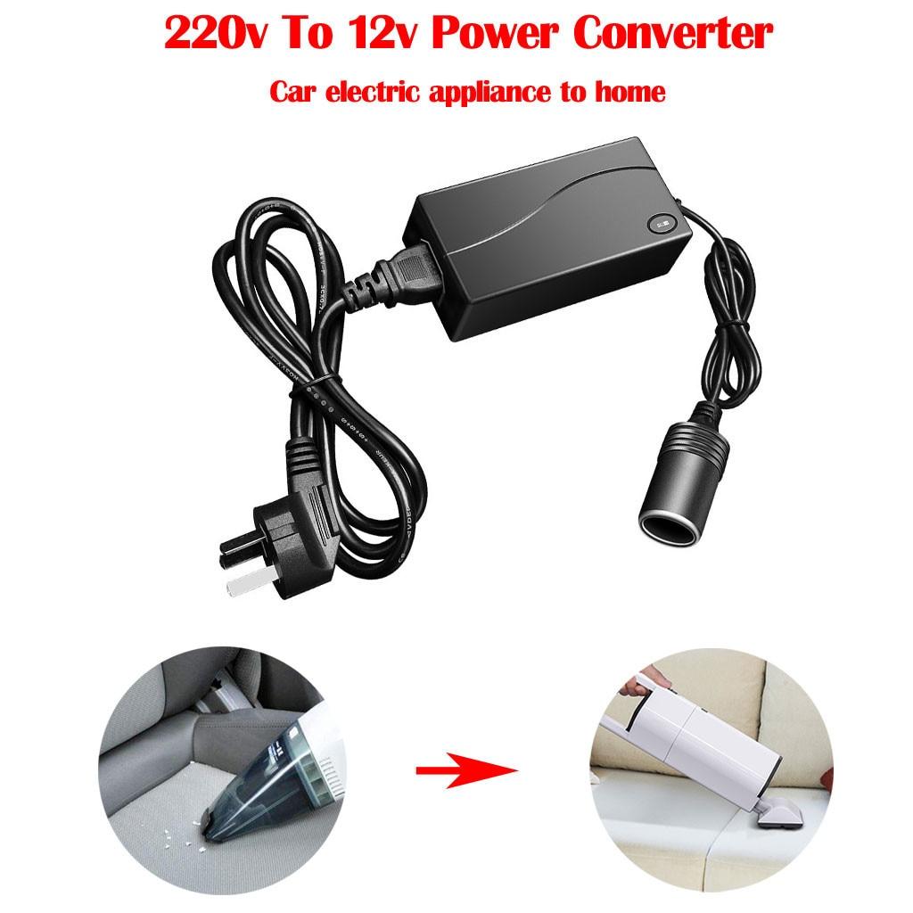 Franchise 220V AC Power To 12V DC 100W 5A Car Cigarette Lighter Converter Adapter Socket #0606 Мельница