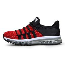 men sneakers springblade mesh breathable lace up trail running shoes