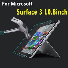 Tempered Glass for Microsoft Surface 3 10.8 inch Cover Full Curved Screen Protective Film Scratchproof Tablet Protector