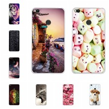 For Xiaomi Mi Max 2 Back Case Ultra-thin Soft TPU Silicone For Mi Max 2 Cover Cute Animal Patterned For Mi Max2 MiMax2 Coque Bag(China)