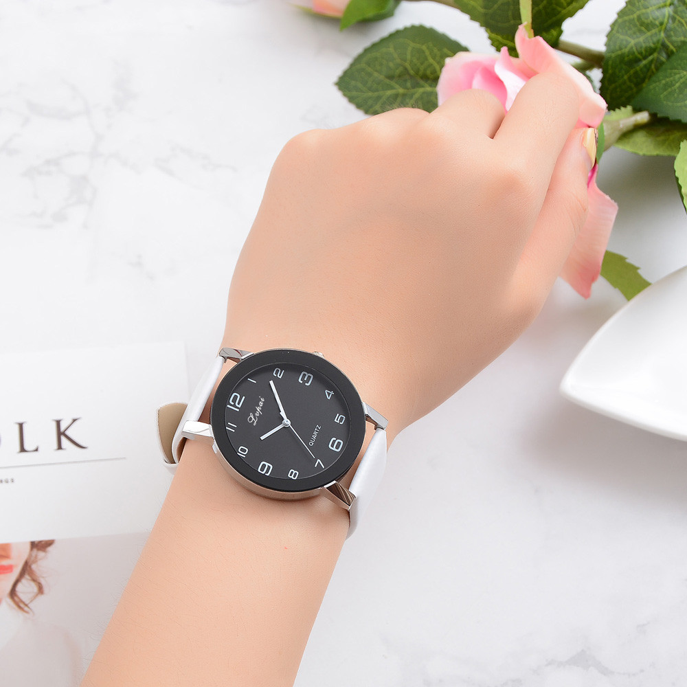 2019 Hot Sale Lvpai Women's Casual Quartz Watch Women's Luxury Leather Band Watch Analog Quartz Wristwatch Female Bracelet Watch