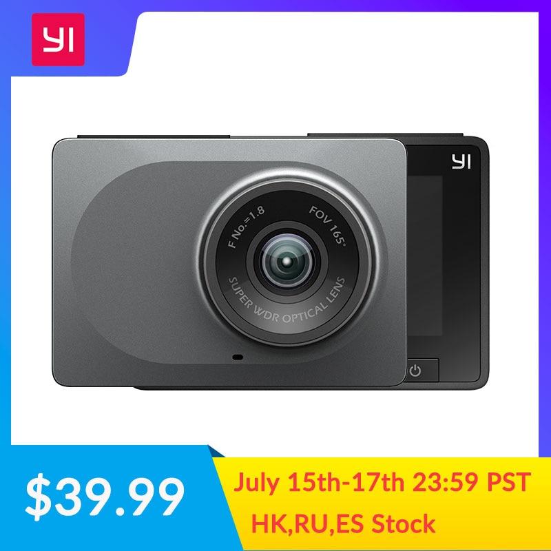YI Smart Dash Kamera Internationalen Version WiFi Nachtsicht HD 1080P 2,7 165 grad 60fps ADAS Sichere Erinnerung armaturenbrett Kamera