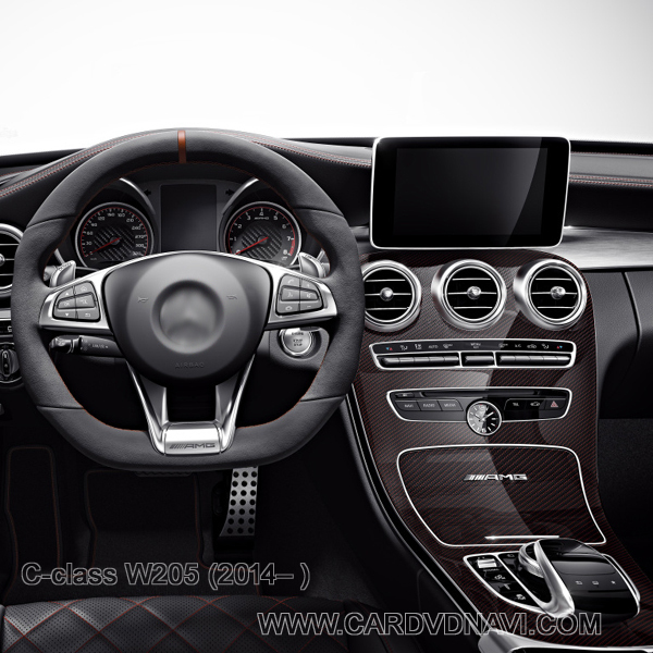 Add on Android navigation for C class W205 (2014 ) Mirror