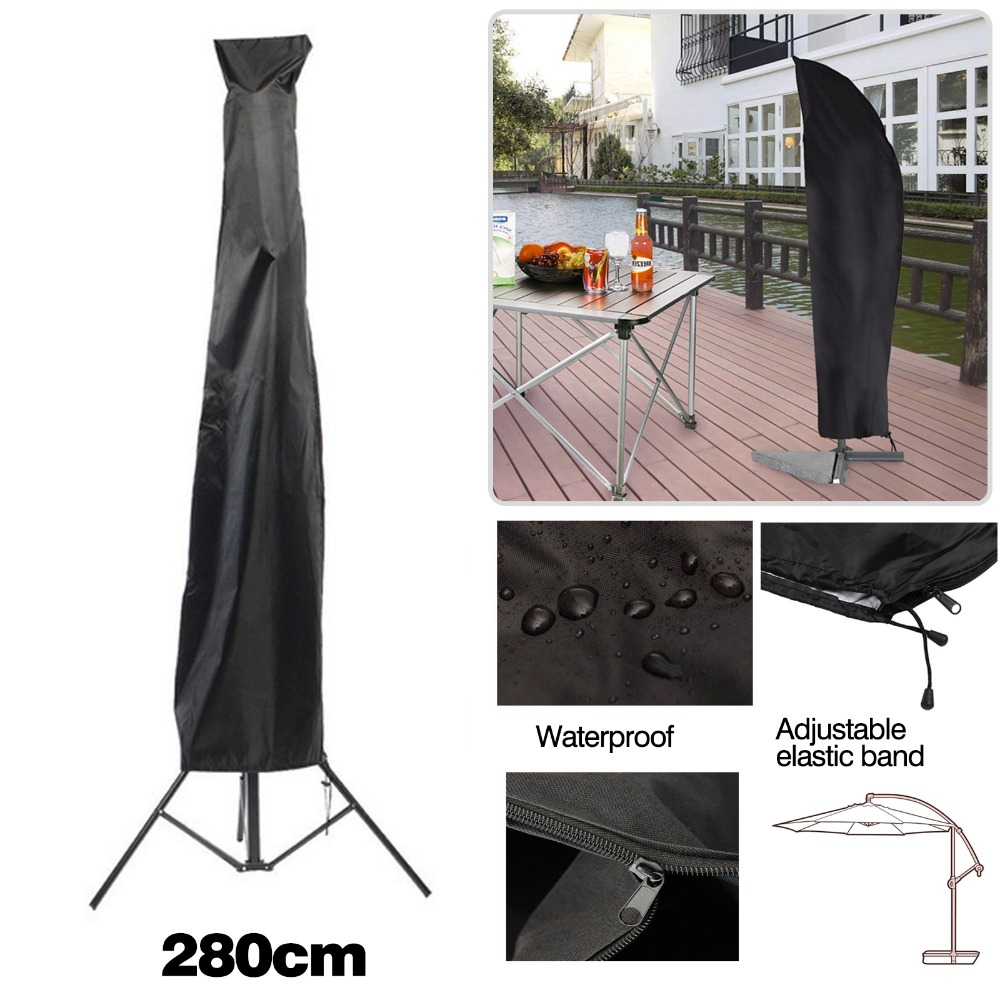 280cm Garden Patio Parasol Umbrella