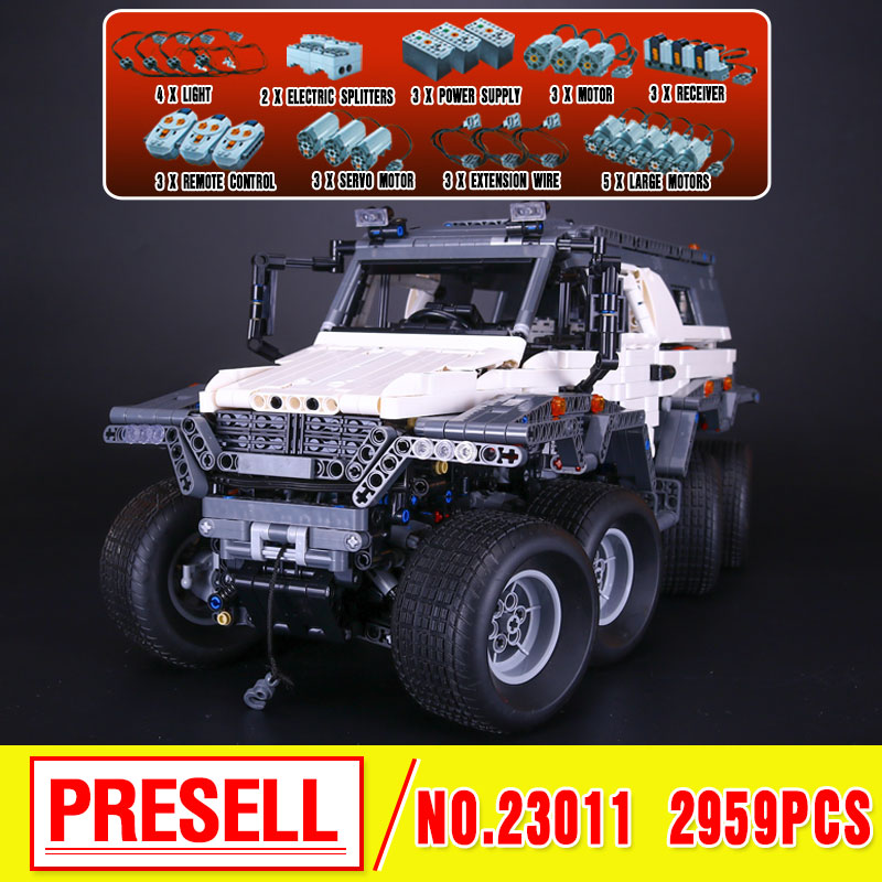 LEPIN 23011 Technic Series Off-road vehicle Model MOC Assembling Building Kits  Block Bricks Compatible 5360 toy Educational Toy hot 378pcs technic motorcycle exploiture model harley vehicle building bricks block set toy gift compatible with legoe