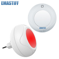 Free Shipping Wireless Colorful Color Flash Siren Indoor Red Led Light 80Db 315mhz 433mhz Just For