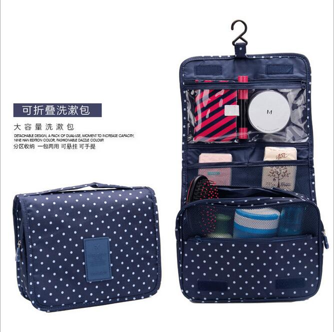 2017 Upgraded Thickening Travel Bag Waterproof Makeup Bags Hanging Cute Bath Professional Makeu In Cosmetic Cases From Luggage On